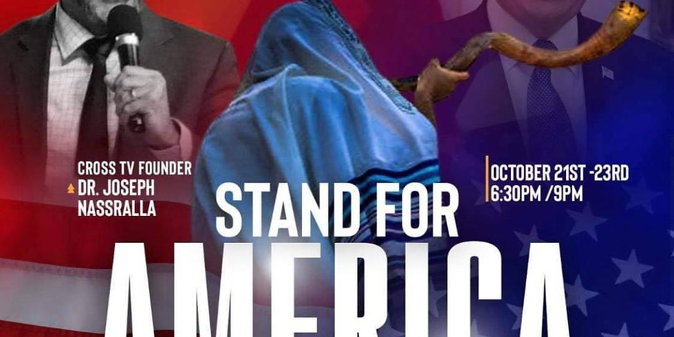 """Leadership Class - Special Event """" Stand for America """" 6:30 pm (pst)"""