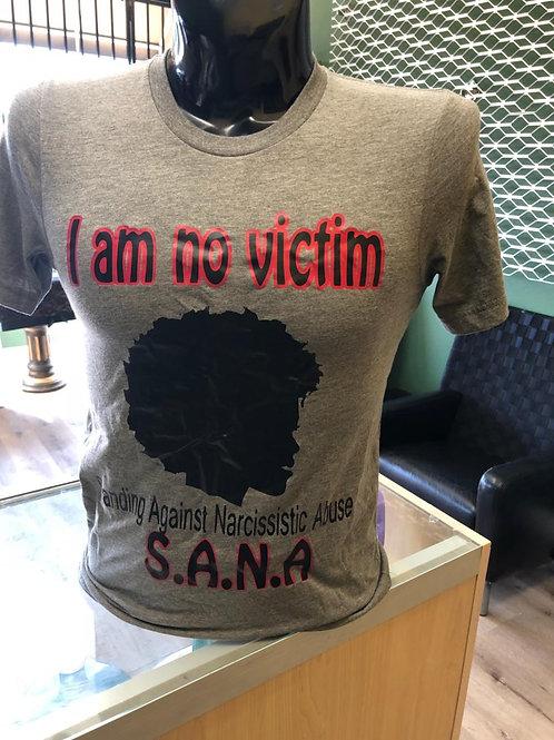 SANA Shirt - I am no victim