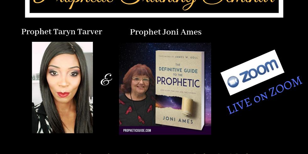 Prophetic School with Joni Ames (week 2)