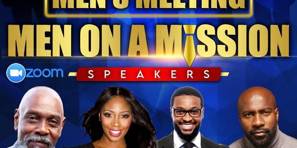 "Men's Meeting  "" Men on a Mission """
