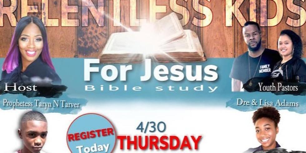 Relentess Kids for Jesus