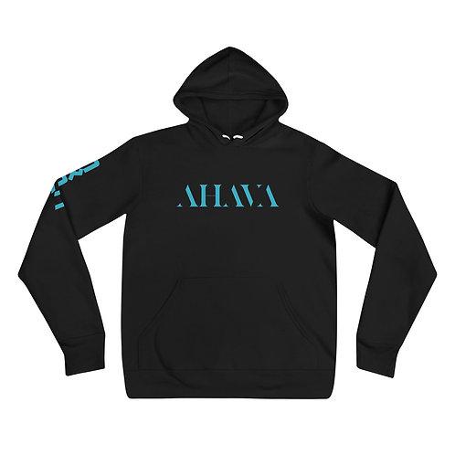 Preorder AHAVA Unisex Hoodie (BLACK)
