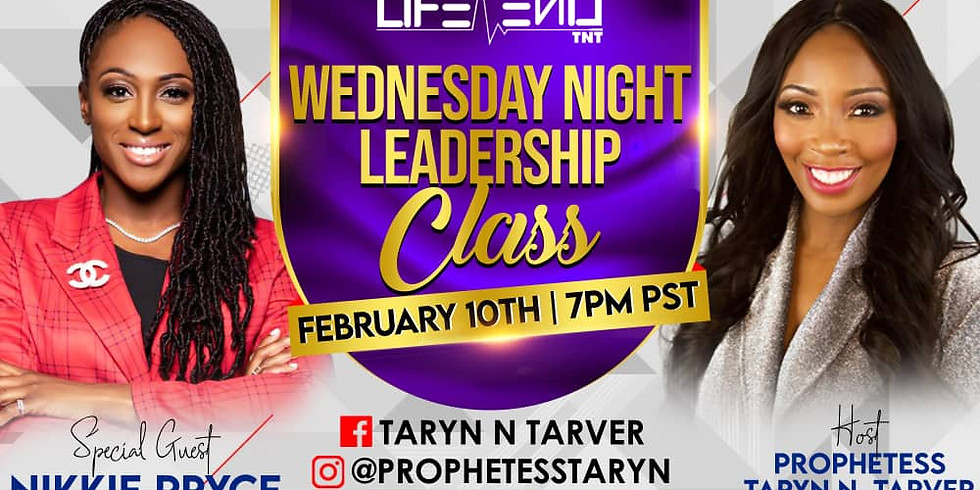 Leadership Class with Special Guest Nikkie Pryce