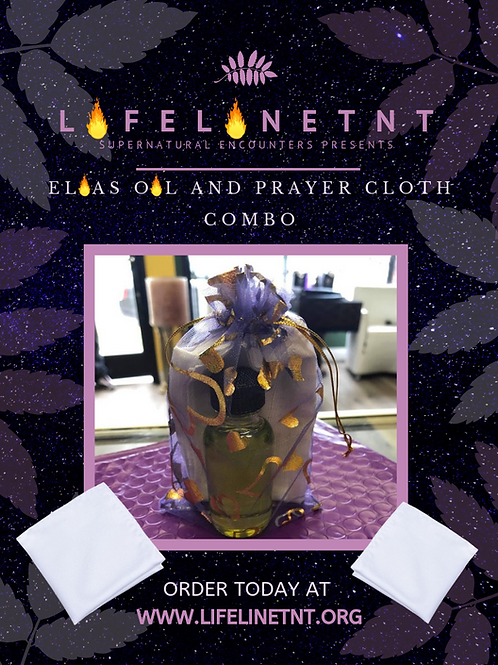 Prayer Cloth & Oil