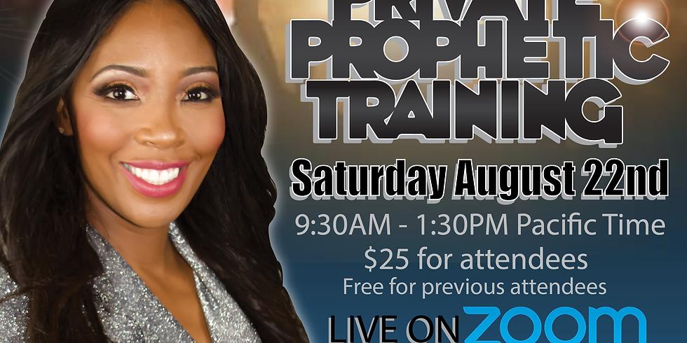 Bonus Prophetic Class