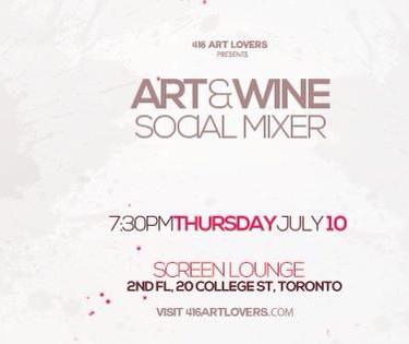 ART and WINE Mixer