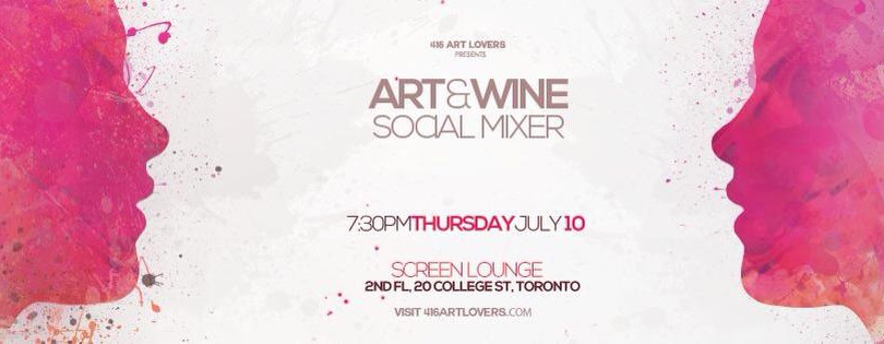 ART and WINE Mixer
