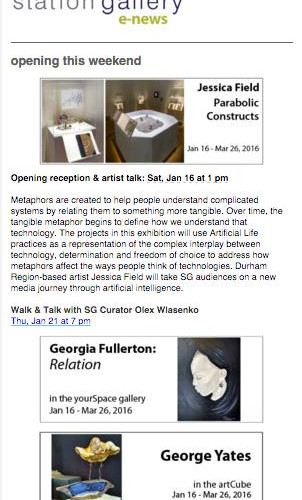 Relation - Station Gallery