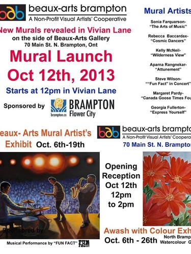 Mural Launch
