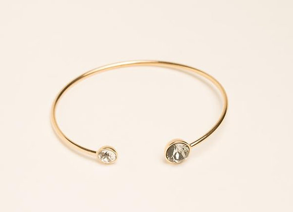 Bracelet Jonc Gris