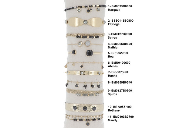 Bracelet Stella Noir