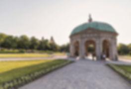 Horgarten - Court Garden - Diana Temple