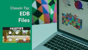 How to create EDB files