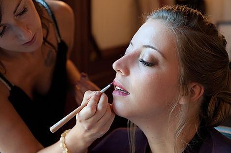 Maquillage mariage Anaïs