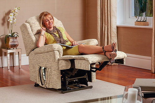 Albany Small Fabric Electric Riser Recliner