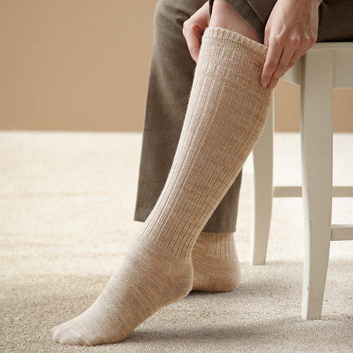 Extra Roomy Thermal Softhold® Seam‑free Knee High Socks