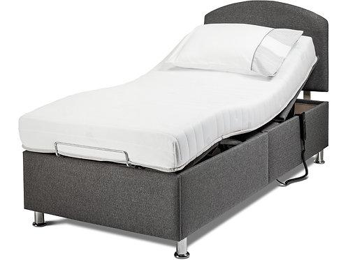 3′ Hampton Head-and-Foot Adjustable Bed shown with Countess Headboard