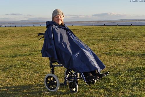 Splash Wheelchair Poncho (Unlined) - U