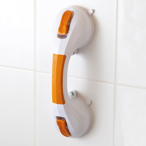 "Suction Cup 12"" Grab Bar with Indicator"