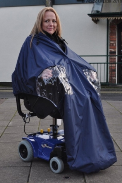 Splash Powerchair Cape (Lined) - U