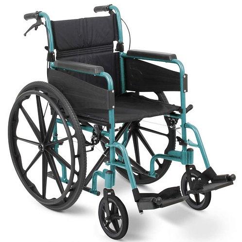 Escape Lite Self Propelled Wheelchair - Racing Green
