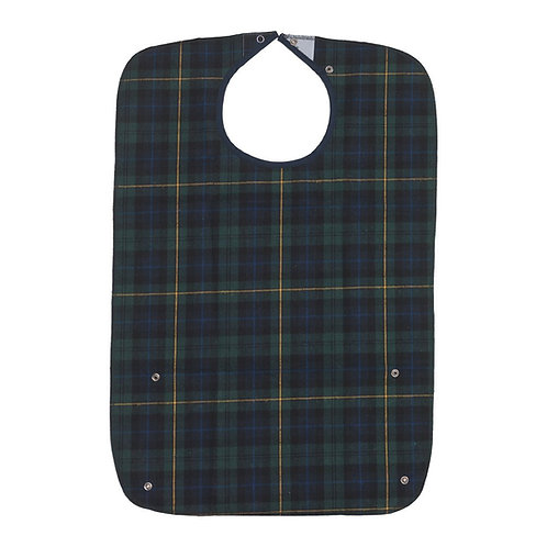Blackwatch Heavy Duty Adult Bib - Tartan