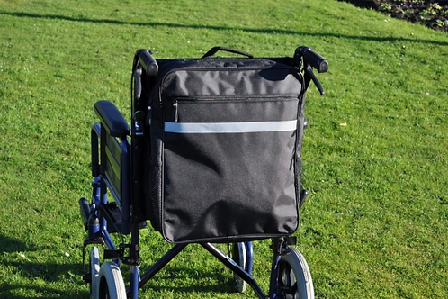 Splash Wheelchair Bag - Black