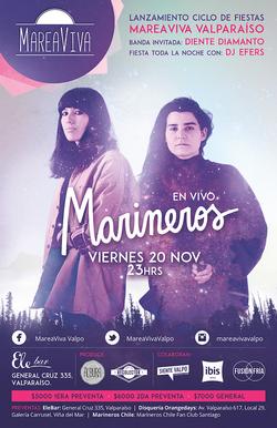 Afiche Marineros