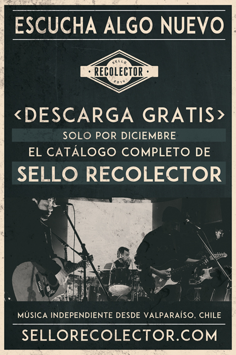 sello recolector flyer