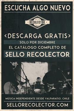 sello recolector flyer