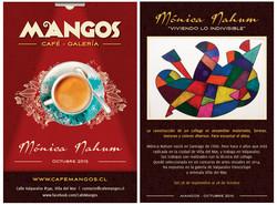 Flyer Mónica Nahum café mangos