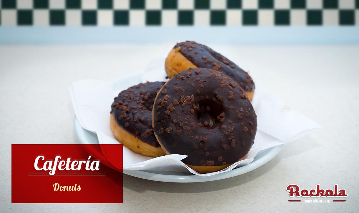 Cafetería-Donuts