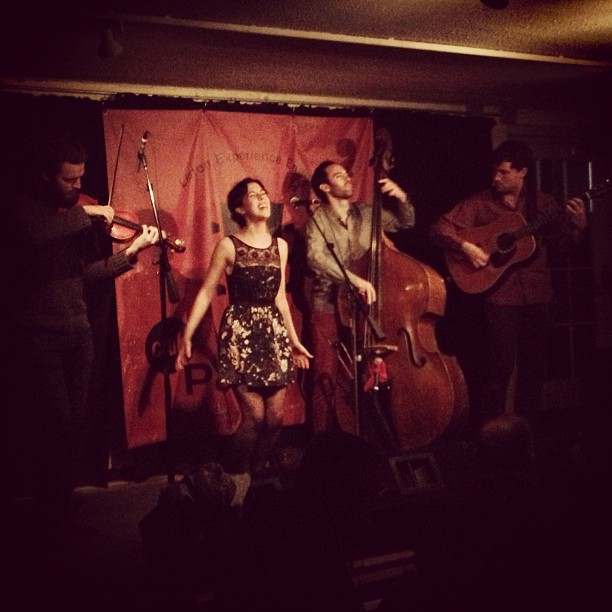 At Club Passim in Cambridge, MA