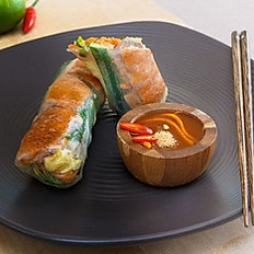 Roasted duck with cucumber