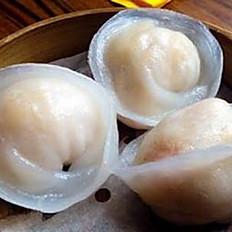 Scallop dumpling