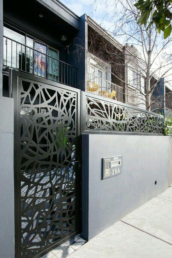 Outside fences