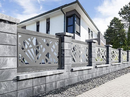 Fences and parapets for outside