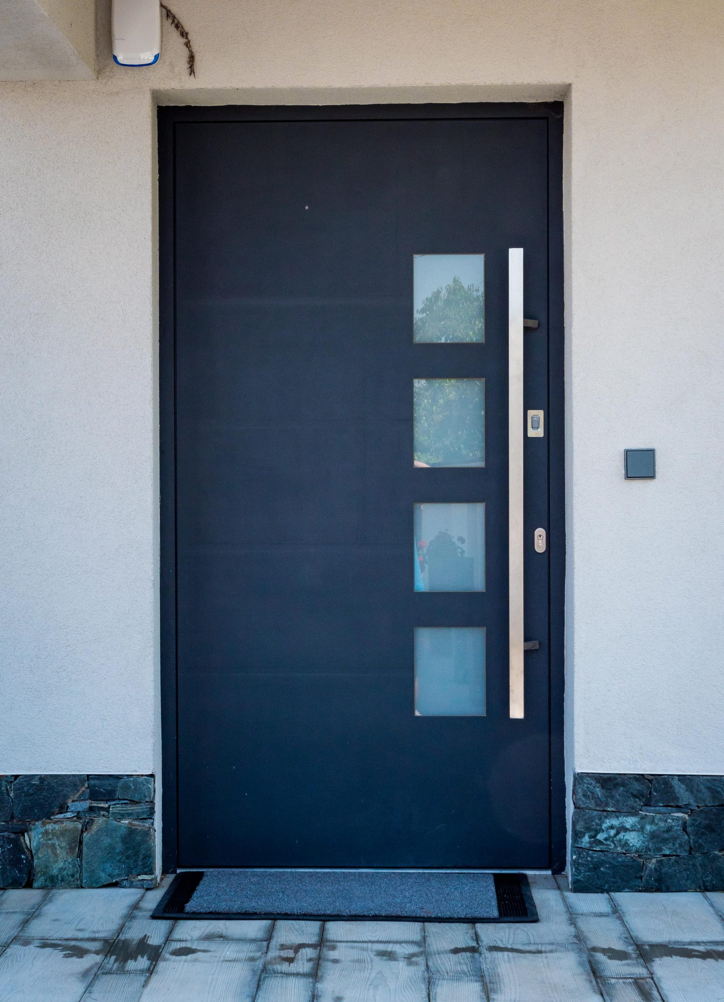 Custom made fancy safety doors