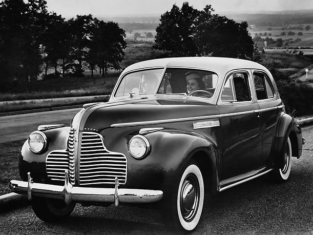1940 Buick Super - 4 door sedan