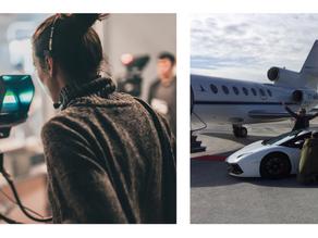 Réservez votre prochain shooting photo ou tournage vidéo en jet privé avec Accessair