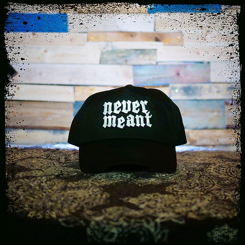 Never Meant - Black Beechfield Cap