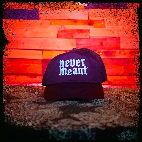 Never Meant - Maroon Beechfield Cap