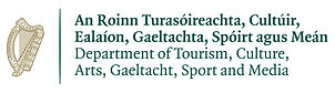 Fiestaval Street Arts, Comedy & Music Festival - Department of Tourism, Culture, Arts, Gaeltacht, Sport and Media Logo