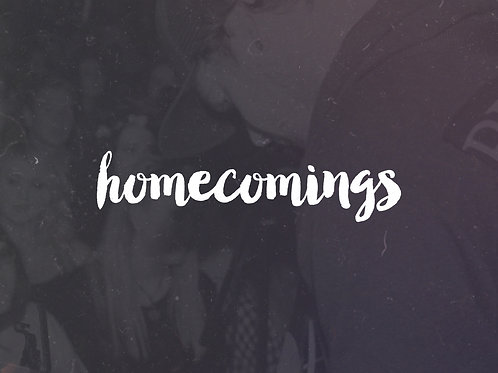 Homecomings - Never Forget - CD Booklet