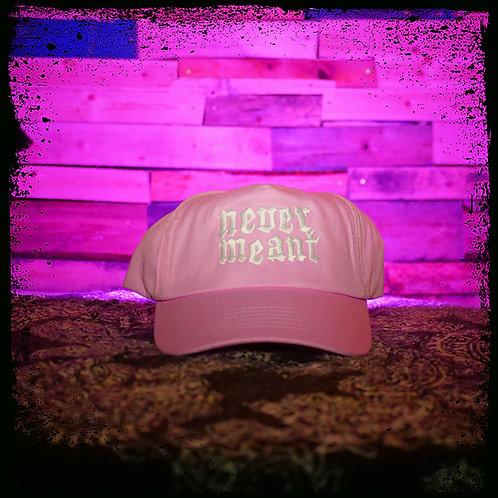 Never Meant - Pink Beechfield Cap