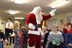 Christmas Recital 2014 Santa