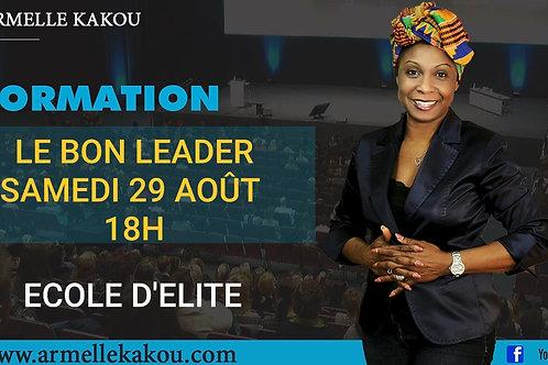 """Formation """" Le Bon Leader"""""""