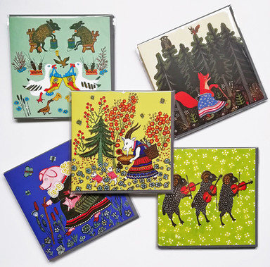 5 cards folk art animals.jpg