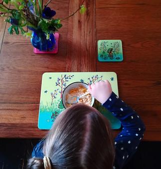Sophia hedgehog breakfast.jpg