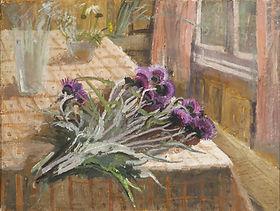 Elizaveta Vasnetsova. Flowers on the Tab